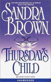 Thursday's Child (Audio Cassette) (Unabridged)
