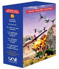 Race Forever/Escape/Lost on the Amazon/Prisoner of the Ant People/Trouble on Planet Earth/War with the Evel Power Master (Choose Your Own Adventure 7-12) (Box Set 2)