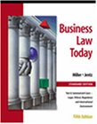 Business Law Today, Standard Edition: Text, Summarized Cases, Legal, Ethical, Regulatory, and International Environment  with the On-line Legal Research Guide