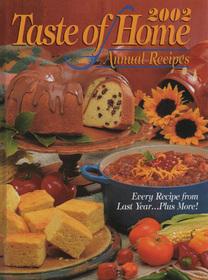 2002 Taste of Home Annual Recipes