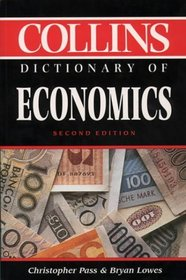 Dictionary Of Economics-2Nd Ed