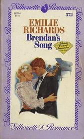 Brendan's Song (Silhouette Romance, No 372)