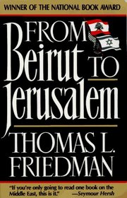 From Beirut to Jerusalem