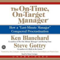 The On-Time, On-Target Manager CD : How a