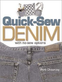 Quick-Sew Denim: With No-Sew Options