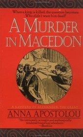 A Murder in Macedon (Alexander the Great, Bk 1)