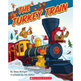 The Turkey Train paperback and CD