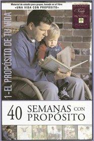 40 Semanas con prop�sito volumen 1 Kit: Para que estoy aqu� en la tierra (Spanish Edition)