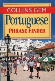 Collins Gem Portuguese Phrase Finder: The Flexible Phrase Book (Gem)
