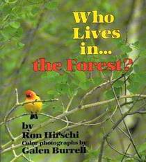 Who lives in... the forest? (Where Animals Live)