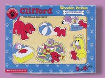Clifford Small Red Puppy Wooden Puzzle--favorite Things (Sidekicks)