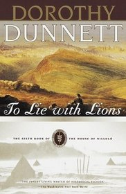 To Lie with Lions (The House of Niccolo, Bk 6)
