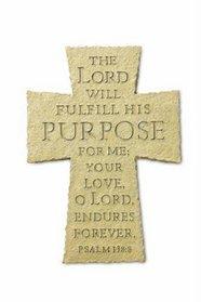 The Purpose-Driven(r) Life Resin Cross