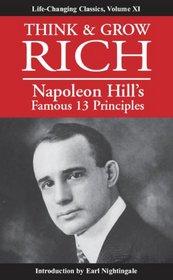 Think & Grow Rich: Napoleon Hill's Famous 13 Principles