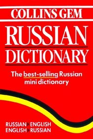 Collins Gem Russian Dictionary (Collins Gem Series)