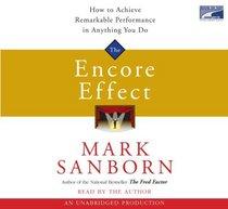 Encore Effect, 3 Cds [Unabridged Library Edition]