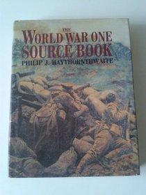 World War One Source Book
