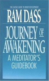 Journey of Awakening : A Meditator's Guidebook
