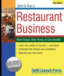 Start  Run a Restaurant Business