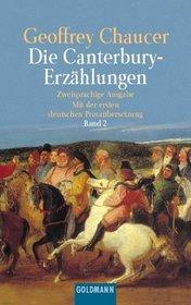 Die Canterbury- Erz�hlungen II. Mittelenglisch und Deutsch.