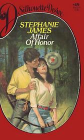 Affair of Honor (Silhouette Desire, No 49)