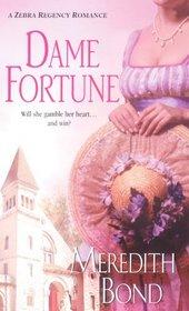 Dame Fortune (Merry Men Quartet, Bk 4) (Zebra Regency Romance)