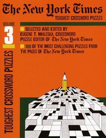 New York Times Toughest Crossword Puzzles Vol.3