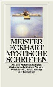 Mystische Schriften.