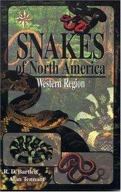 Snakes of North America: Western Region (Field Guide Series)