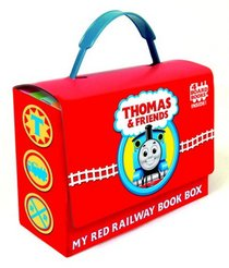 Thomas and Friends: My Red Railway Book Box (Bright & Early Board Books(TM))