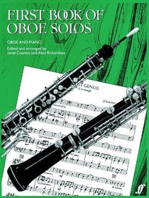 First Book of Oboe Solos: (Oboe and Piano)