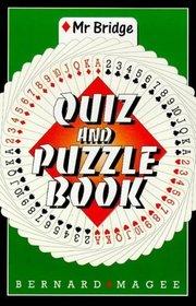 Mr. Bridge's Quiz and Puzzle Book