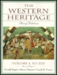 Western Heritage, The: Brief Edition, Vol. I to 1715 Chap. 1-15