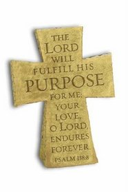 The Purpose-Driven(r) Life Standing Resin Cross