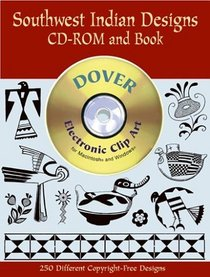 Southwest Indian Designs CD-ROM and Book (Dover Pictorial Archives)