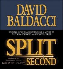 Split Second (Sean King & Michelle Maxwell, Bk 1) (Audio CD) (Abridged)