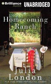 Homecoming Ranch (Pine River, Bk 1) (Audio CD) (Unabridged)