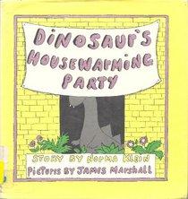 Dinosaur's Housewarming Party: Story