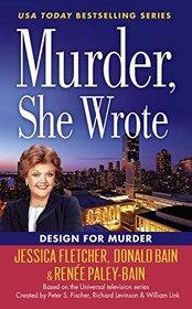Design for Murder (Murder, She Wrote, Bk 45)