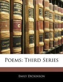 Poems: Third Series