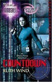 Countdown (Athena Force, Bk 10) (Silhouette Bombshell, No 38)