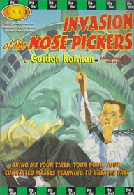 Invasion of the Nose Pickers (L.A.F. (Paperback))