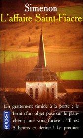 L' Affaire Saint-Fiacre (Presses-Pocket)