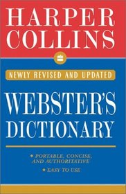Collins Webster's Dictionary (HarperCollins Dictionary)