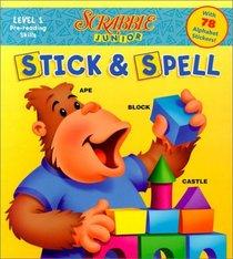 Scrabble Junior Stick & Spell (Scrabble Junior)