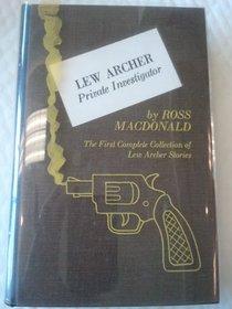Ross MacDonald's Lew Archer Private Investigator