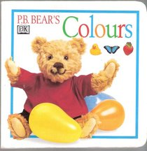 Pb Bear's Colours Board Book