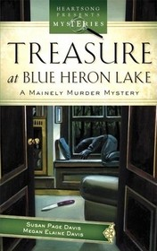 Treasure at Blue Heron Lake (Mainely Murder, Bk 2)