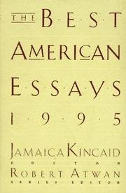 The Best American Essays 1994 (Best American Essays)