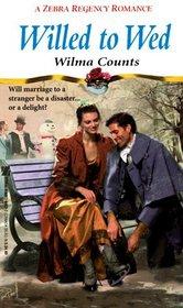 Willed to Wed (Zebra Regency Romance)